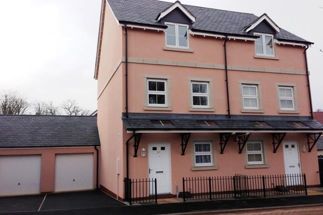 Thumbnail Semi-detached house to rent in Carhaix Way, Dawlish