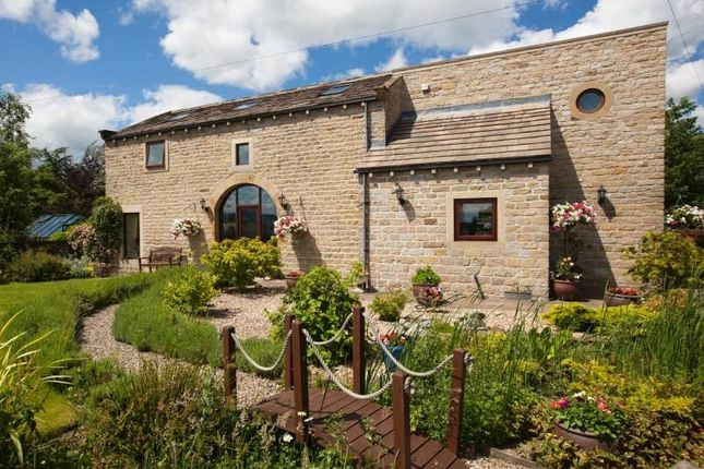 Thumbnail Detached house for sale in Moorside Barn Clough Head, Golcar, Huddersfield
