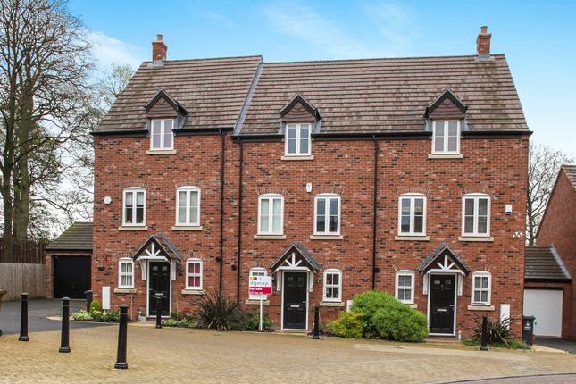 Thumbnail Town house for sale in Stewards Field Drive, Great Barr, Birmingham