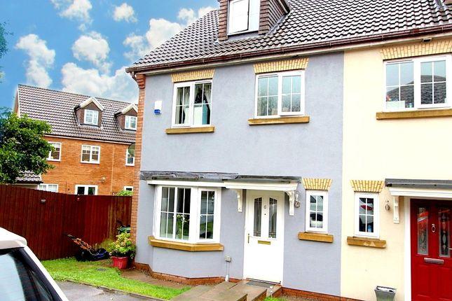 Thumbnail Semi-detached house for sale in Nant Y Fron, Tonyrefail -, Porth