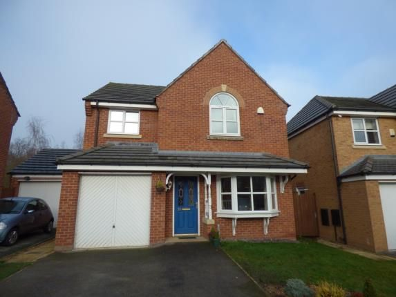 4 bed detached house for sale in St. Giles Park, Gwersyllt, Wrexham, Wrecsam