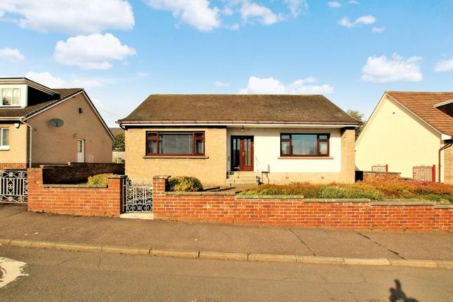 Thumbnail Detached bungalow for sale in Dalzell Avenue, Motherwell
