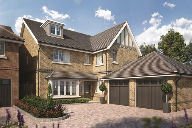 Thumbnail Detached house for sale in Tuffnells Way, Harpenden