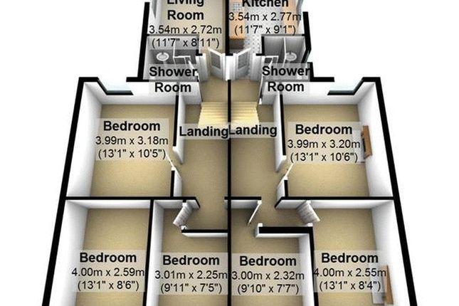 Thumbnail Flat to rent in Sydenham Buildings, Bath