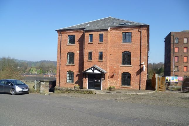 Thumbnail Flat to rent in Shade Mill, Leek, Staffordshire