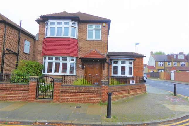 Thumbnail Detached house for sale in Amberley Road, Bushill Park, Enfield