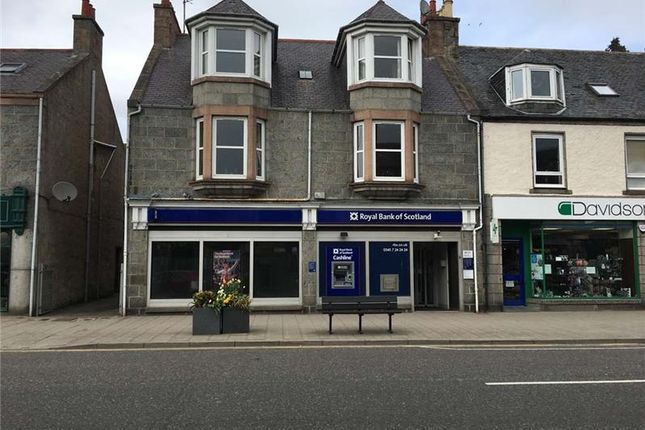 Thumbnail Retail premises for sale in Royal Bank Of Scotland - Former, 59, High Street, Banchory, Aberdeenshire, UK
