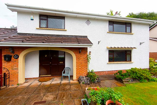 Thumbnail Detached house for sale in Taff Vale Estate, Edwardsville, Treharris