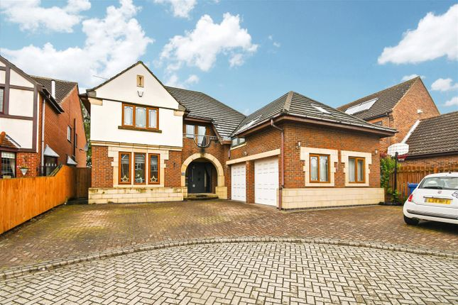 Thumbnail Detached house for sale in Alma Close, Kirk Ella, Hull