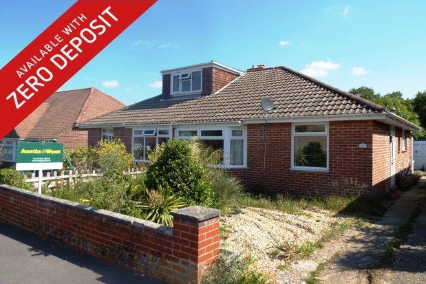 Thumbnail Bungalow to rent in Nicholas Crescent, Fareham