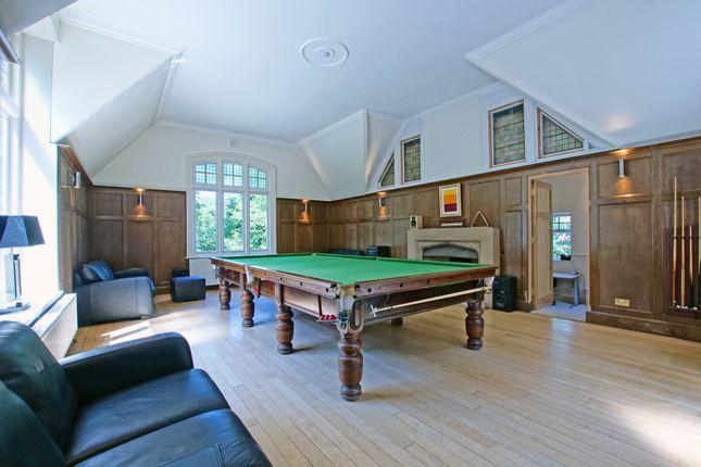 Billiard Room of Mearse Lane, Barnt Green, Birmingham B45