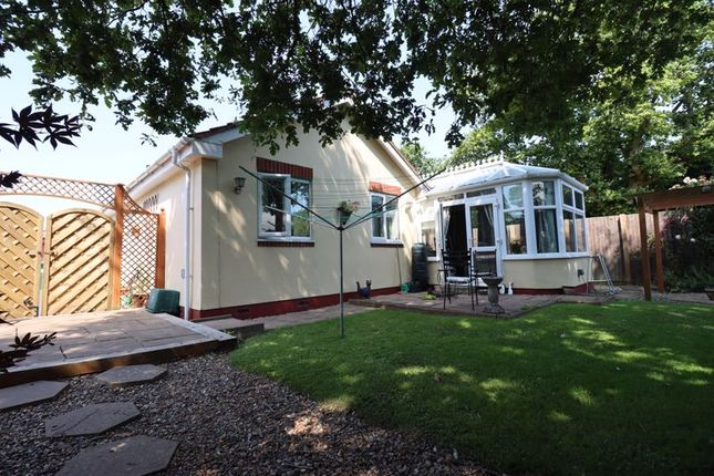 Thumbnail Detached bungalow for sale in Bryant Gardens, Clevedon