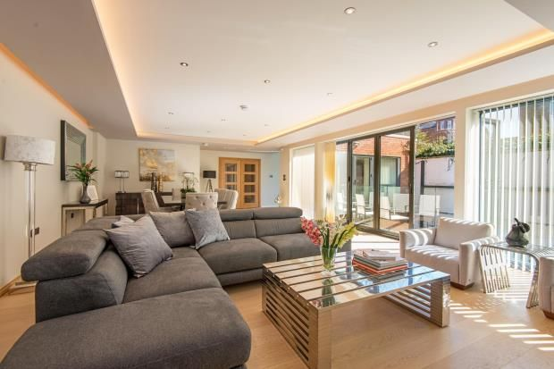 Thumbnail Detached house for sale in Fairhazel Gardens, South Hampstead, London