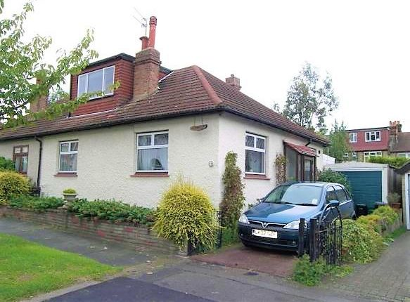 Thumbnail Bungalow to rent in Lytton Avenue, Palmers Green