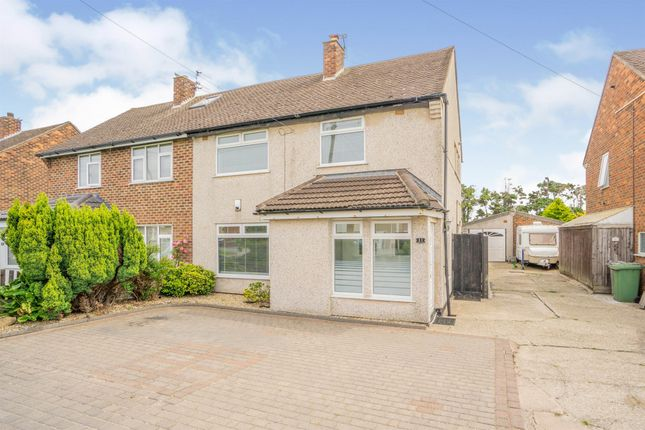 Thumbnail Semi-detached house for sale in Reeds Lane, Moreton, Wirral