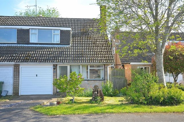 Thumbnail Semi-detached house for sale in Wantage Close, Hackleton, Northampton