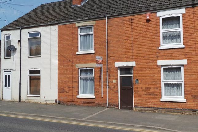 Thumbnail Terraced house to rent in Springfield Road, Grantham