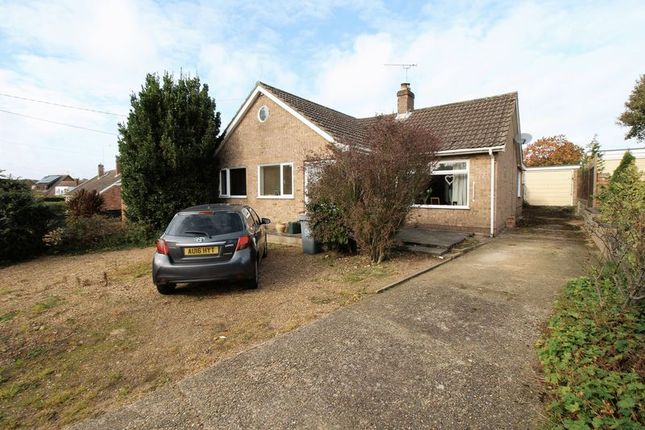 Thumbnail Bungalow for sale in Park Road, Spixworth, Norwich