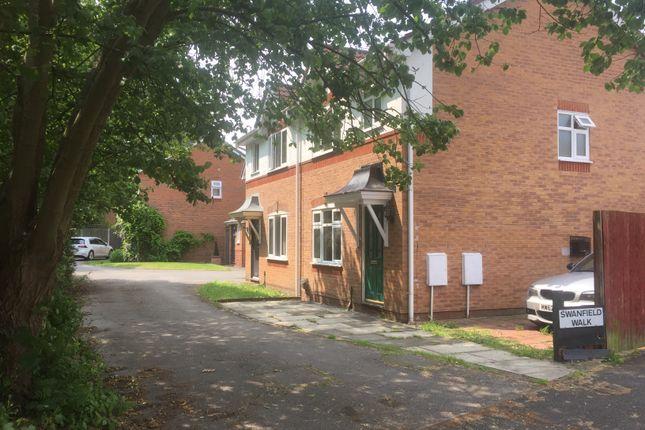 3 bed semi-detached house for sale in Swanfield Walk Golborne, Warrington, Warrington