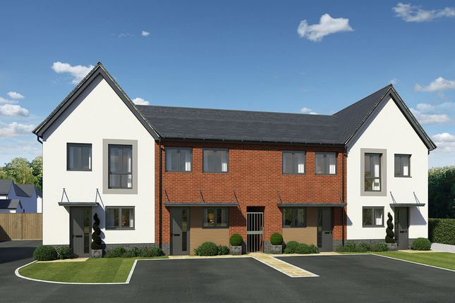 "Thumbnail End terrace house for sale in ""Afon Conwy"" at Llantrisant Road, Cardiff"