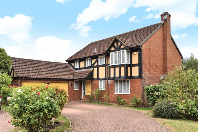 Thumbnail Detached house for sale in Hollyhook Close, Crowthorne, Berkshire