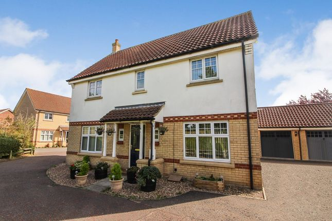 Thumbnail Detached house for sale in Lodge Farm Drive, Old Catton, Norwich