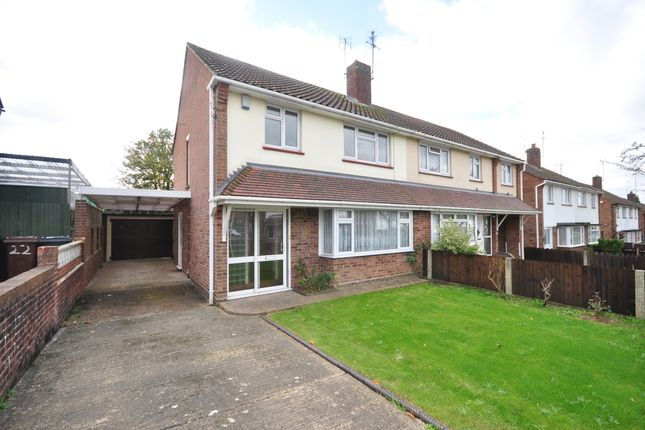 Thumbnail Semi-detached house to rent in Highfield Road, Willesborough, Ashford