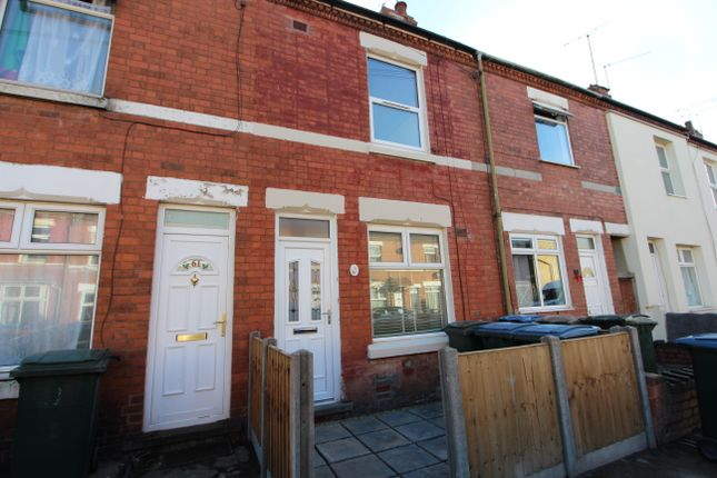 2 bed terraced house to rent in Aldbourne Road, Coundon, Coventry CV1