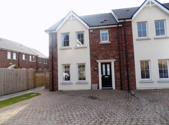 Thumbnail Town house to rent in 10 Ayrshire Lodge, Brokerstown Road, Lisburn