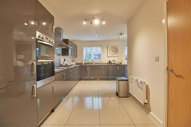 Thumbnail Detached house for sale in Lime Avenue, Sapcote, Leicester