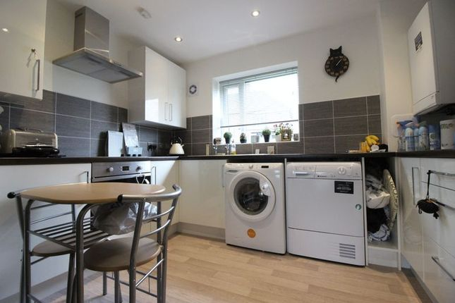 Thumbnail Flat for sale in Nightingale Gardens, Leek, Staffordshire