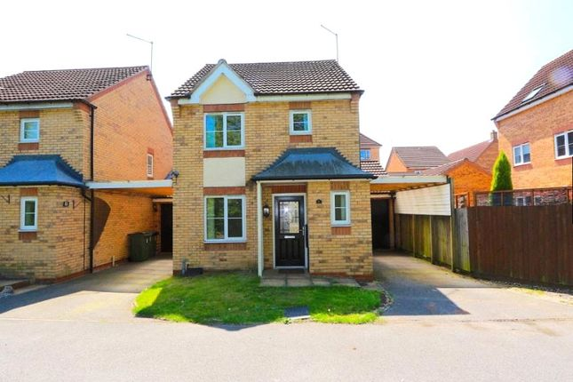 Thumbnail Detached house for sale in Field Close, Thorpe Astley, Leicester