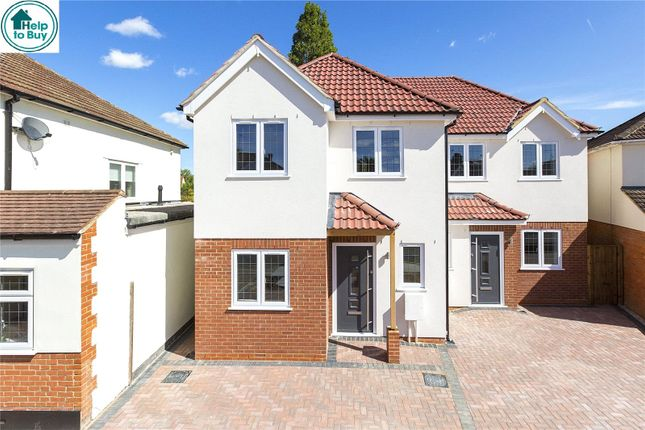 Thumbnail Semi-detached house for sale in Woodlands Road, Romford, Essex