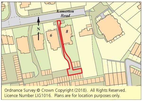Thumbnail Land for sale in Land Adjacent 8 Kemerton Road, Beckenham, Kent