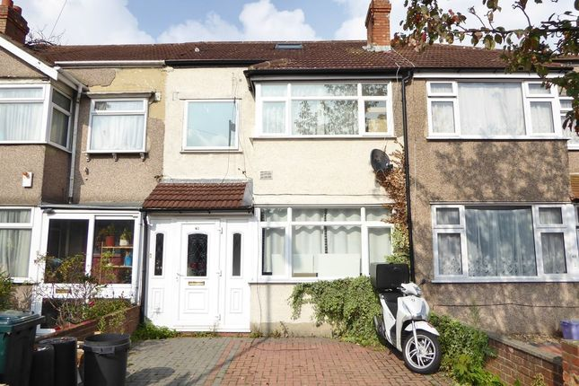 Thumbnail Terraced house for sale in Grove Road, Mitcham