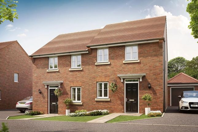 "Thumbnail Semi-detached house for sale in ""Tilford"" at Pyle Hill, Newbury"