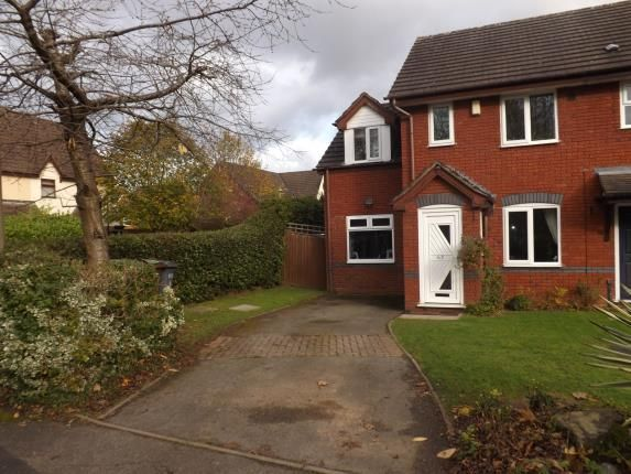 Thumbnail End terrace house for sale in Kerswell Drive, Monkspath, Solihull, West Midlands