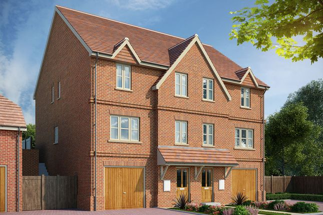Thumbnail Semi-detached house for sale in Hartley Row Park, Fleet Road, Hartley Wintney, Hampshire
