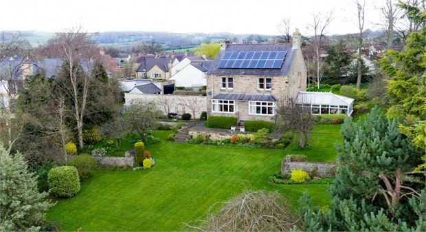 Thumbnail Detached house for sale in Appletree Lane, Corbridge, Northumberland.