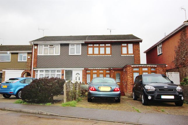 Thumbnail Semi-detached house to rent in Harvest Road, Canvey Island