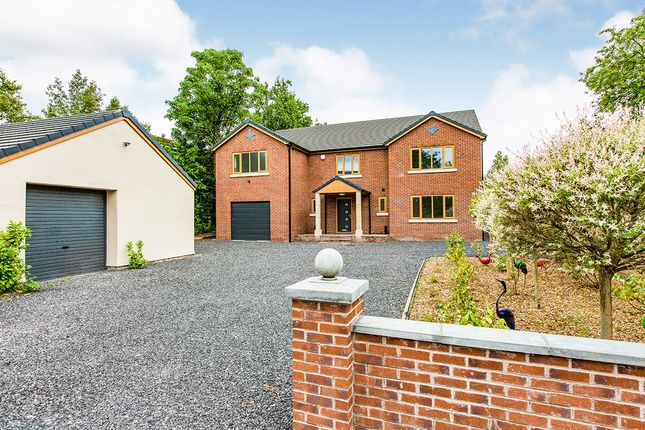 Thumbnail Detached house for sale in Highgate Close, Fulwood, Preston, Lancashire