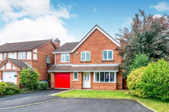 Thumbnail Detached house for sale in Coppice Grove, Off Birchwood Road, Lichfield, Staffordshire