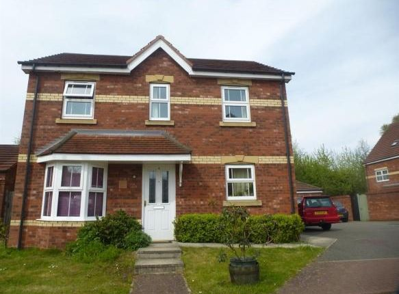 Thumbnail Detached house for sale in Paddock Close, Market Rasen