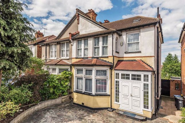 Thumbnail Semi-detached house for sale in Green Dragon Lane, Winchmore Hill, London