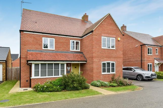Thumbnail Detached house for sale in Dunnock Road, Bodicote