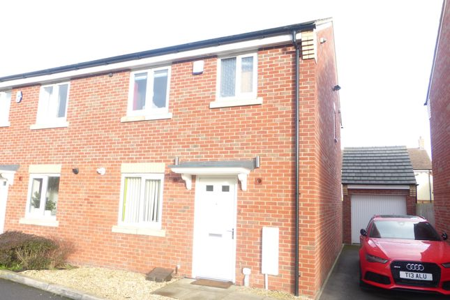 Thumbnail Semi-detached house for sale in Griffins Crescent, Walsall