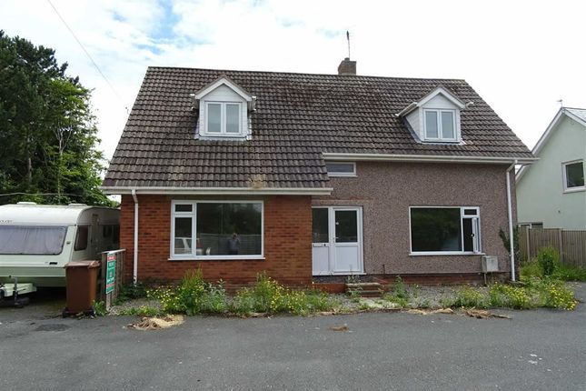 Thumbnail Detached house for sale in House With Building Plots, Pendre Gardens, Tywyn