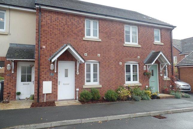 Thumbnail Terraced house for sale in Trem Y Cwm, Gellidawel, Merthyr Tydfil