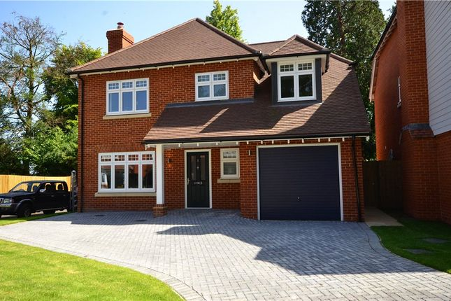 Thumbnail Detached house for sale in Windrush Heights, Little Sandhurst, Berkshire