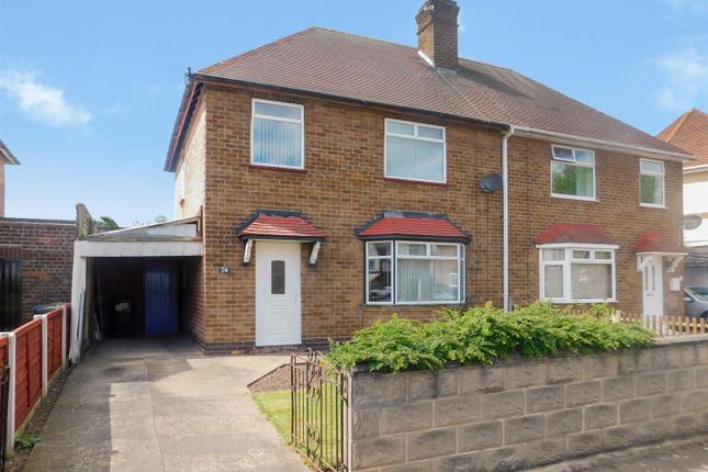 Thumbnail Semi-detached house for sale in Welbeck Road, Long Eaton, Nottingham